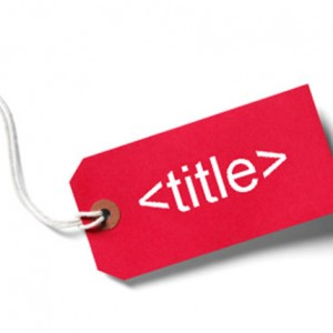 title tags SEO
