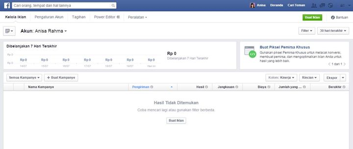 media sosial indonesia belajar facebook ads 2