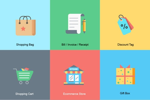 Ecommerce Icon Set - buattokoonlineid