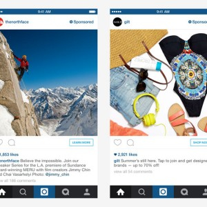 fashion retailer di Instagram
