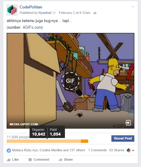 a-iklan Facebook social media