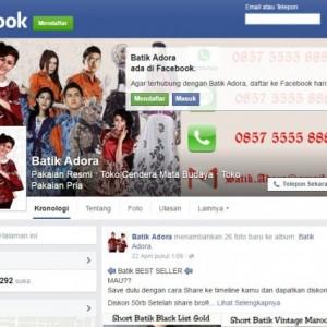 cover dan avatar facebook fanpage