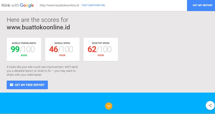 cek website mobile friendly mobile speed desktop speed