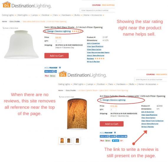 customer review untuk produk