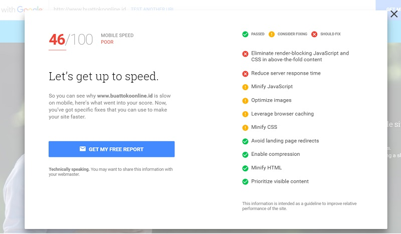 tools Google cek website speed mobile friendly mobile speed desktop speed