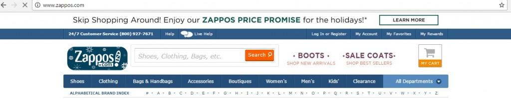 ecommerce-header-zappos