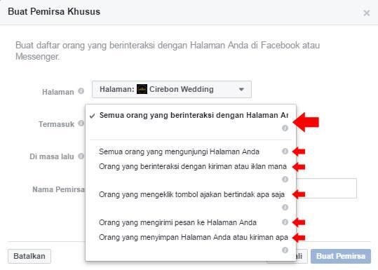 pilih-facebook-page-yang-ingin-dilakukan-retargeting