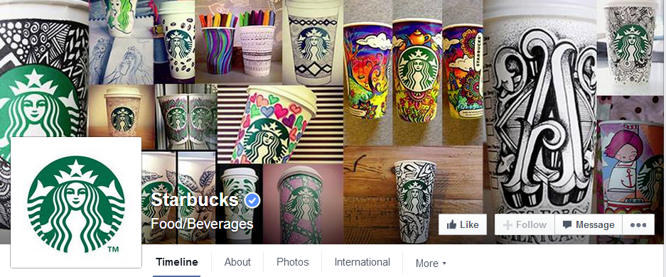 starbucks-facebook-page