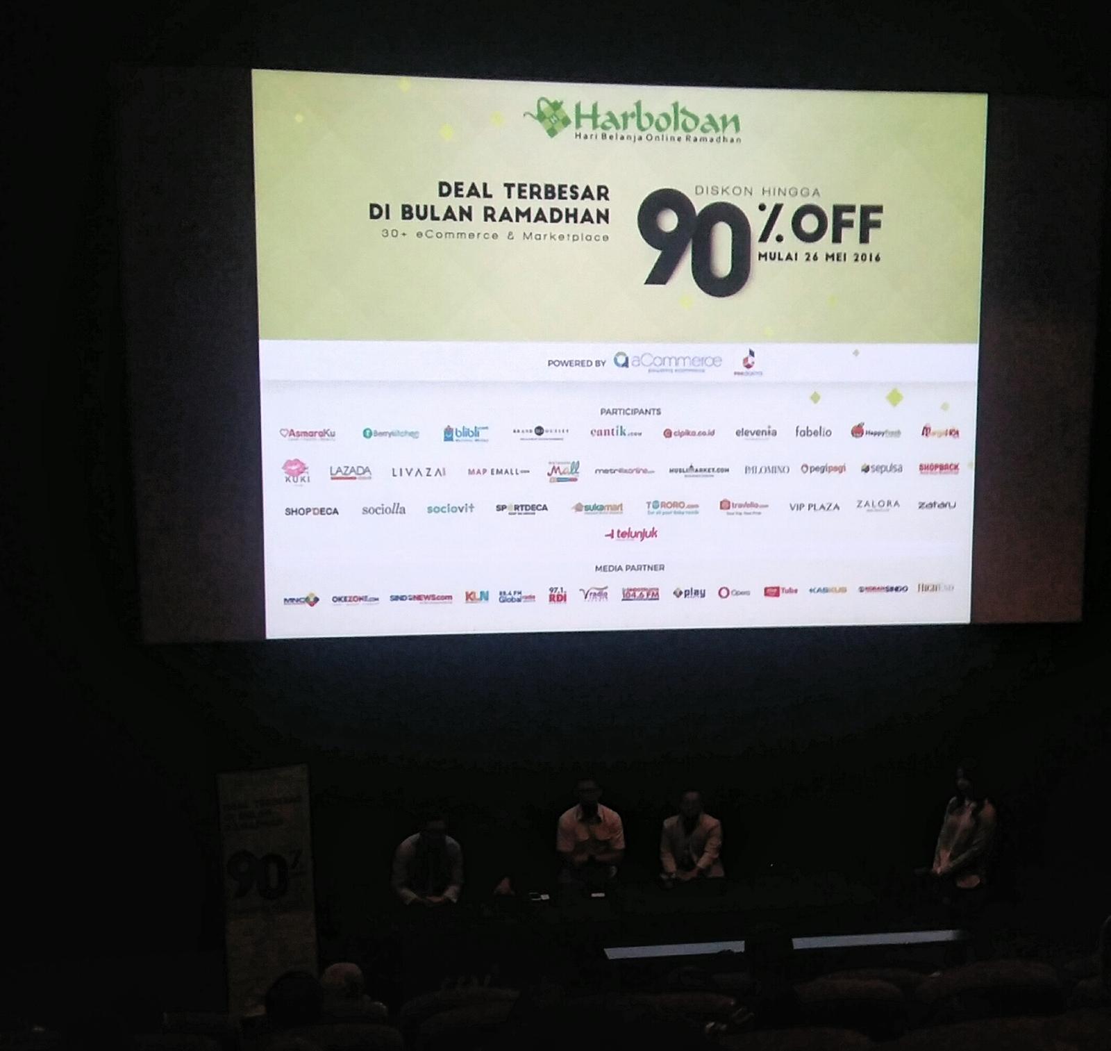 Pos Indonesia bergabung dalam Harboldan 2016