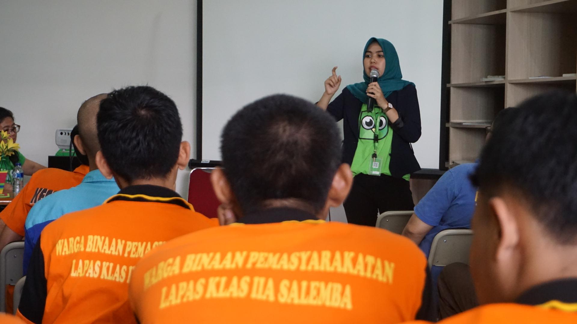 Gandeng Tokopedia, Lapas Salemba Edukasi Warga Binaan Cara Bisnis Online