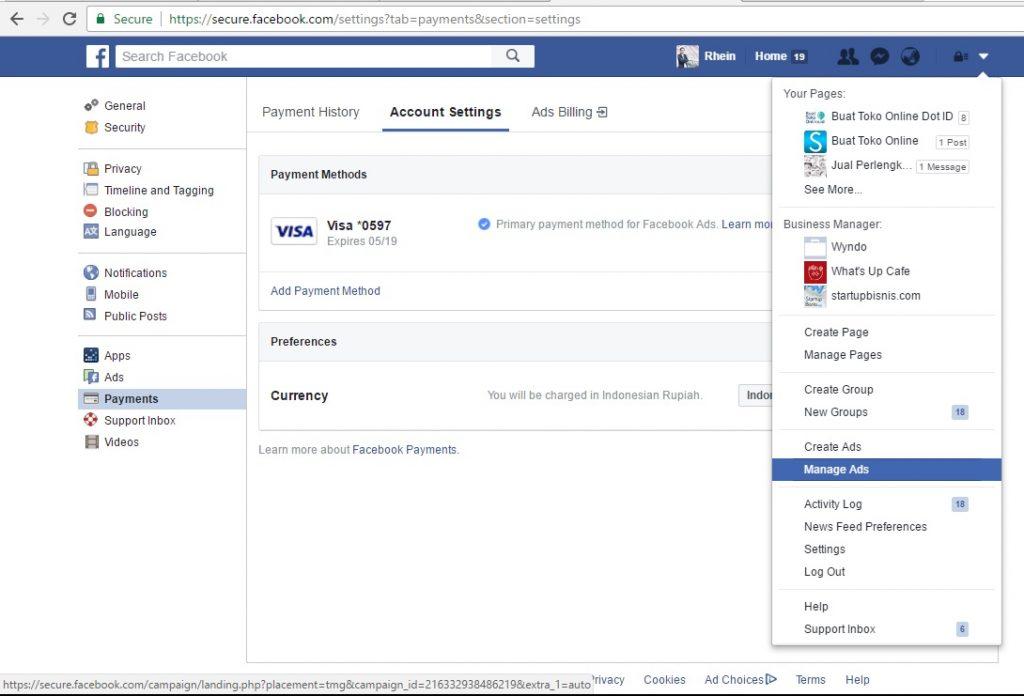 1- sharing Ads Account