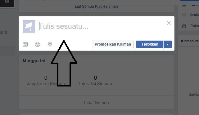 bagaimana buat facebook fanpage