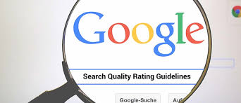 belajar seo - search quality rating guideline