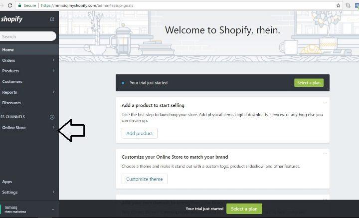 cara pasang FB pixel shopify