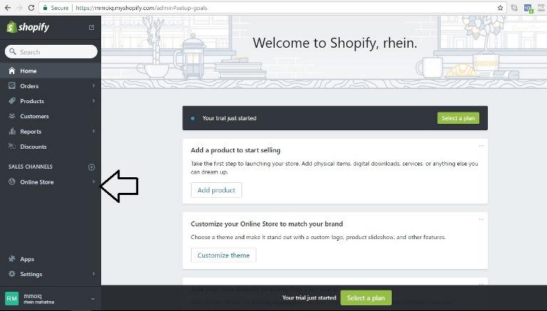 cara mengatur Facebook Pixel pada Shopify Toko