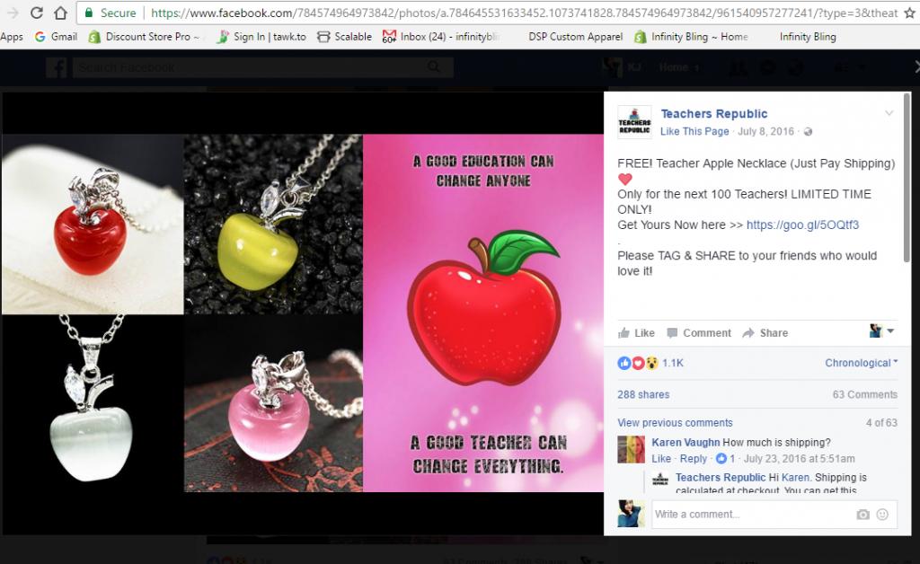 kalung apel