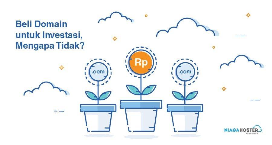 cara beli domain website untuk investasi
