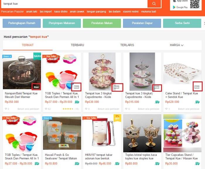 jualan online dengan iklanku shopee