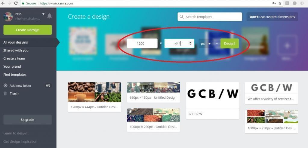 cara membuat desain banner untuk iklan facebook